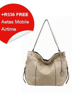 Beige Couture Handbag