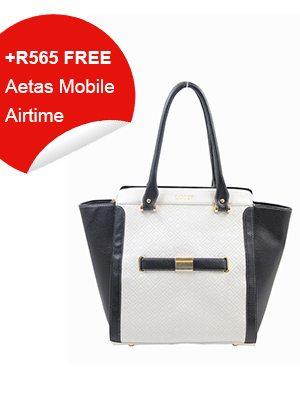 Black and White Stylish handbag