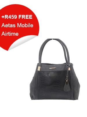 Black Boutique Style Handbag