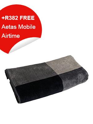 Bath Towel (grey,navy)
