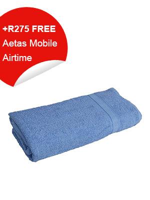 Bathroom Towel (Blue)