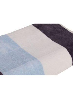Bath Towel (Blue Striped)