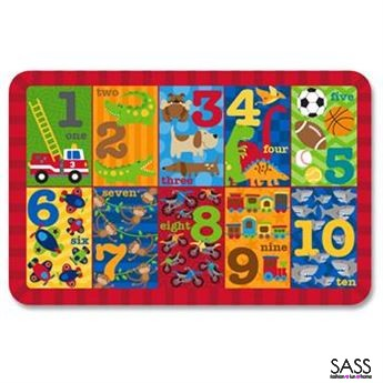 Placemats 123 Boys