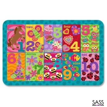 Placemats 123 Girls