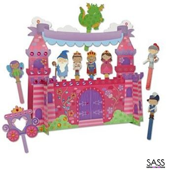 Castle Puppet Craft Play Set