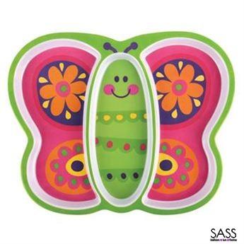 Melamine Plate Butterfly