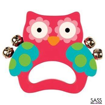 Hand Bells Owl