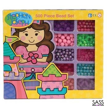 500 Piece Bead Set Princess Castle