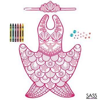 Colour & Craft Costume Mermaid
