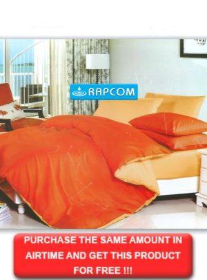 King Bedding Orange Set