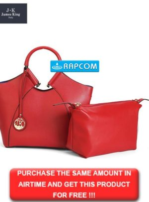 King Red Ladies Tote Bag