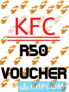 KFC R50 voucher for Σ125